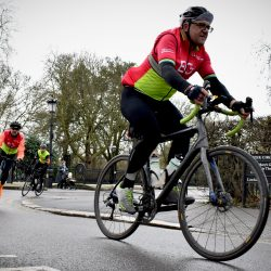 Cycling for Charity in Regents Park